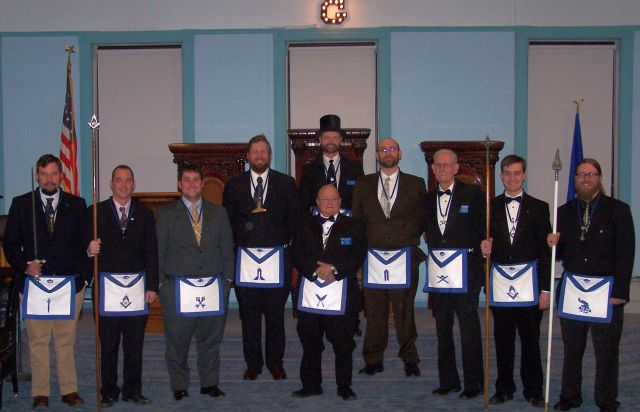 Lodge Officers Picture